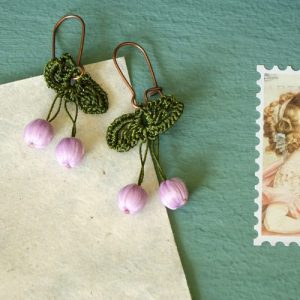 Needle Lace Earring - Lily Color - EARRINGS 112 9 500x500