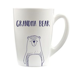 Grandma Bear Latte Mug 12oz - Grandma Bear white latte mug for Amazon AMz 500x500