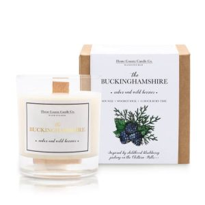 The Buckinghamshire – Cedar and Wild Berries Soy Candle