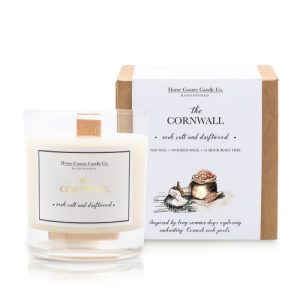 The Cornwall – Rock Salt and Driftwood Soy Candle