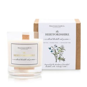 The Hertfordshire – Woodland Bluebell and Jasmine Soy Candle