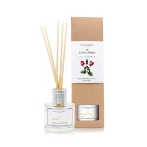 The Lancashire – Red Rose & Patchouli 100ml Reed Diffuser