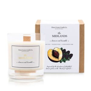 The Midlands – Damson and Bramble Soy Candle