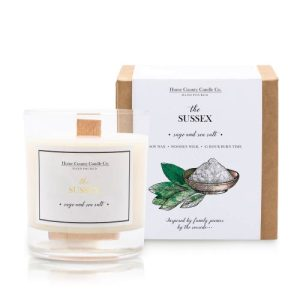 The Sussex – Sage and Sea Salt Soy Candle