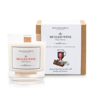 The Mulled Wine – Mulled Wine Soy Candle – Winter Collection
