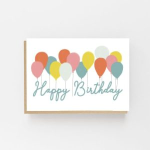 Lomond Paper Co. A6 Card HB Balloons