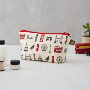 COS01 – London Icons Cosmetic Bag – pack of 6