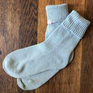 Alpaca Bed Socks – Duck Egg Blue