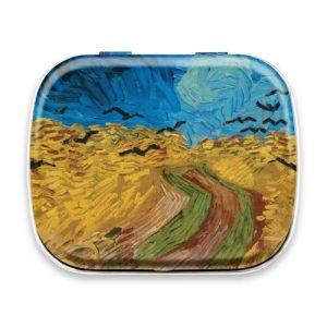 Van Gogh Mint Box – Wheatfield with Crows