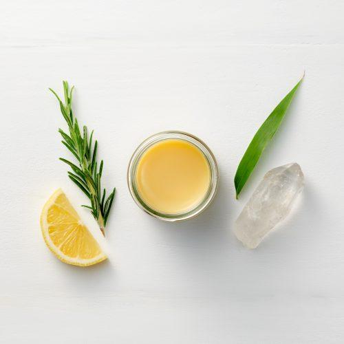 Restore Hand & Body Balm by Corinne Taylor with Tea Tree, Rosemary & lemon. Vegan, cruelty free, organic, 100% natural, antibacterial.