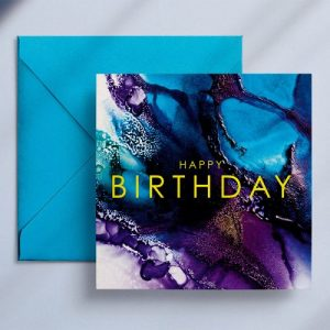 Wendy Bell Designs Card VIBRANT NOTES Happy birthday