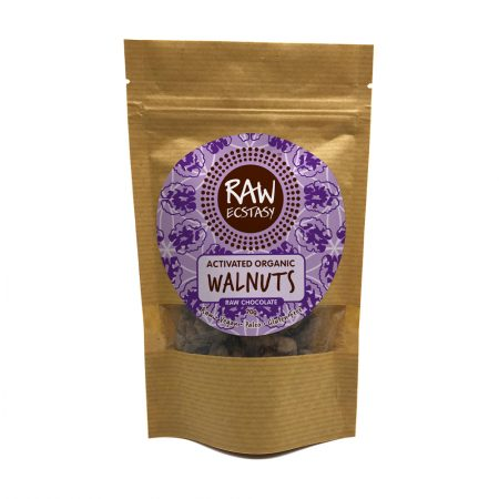 Activated Organic Walnuts : Raw Chocolate 70g pack of 6 - Walnuts RC product 450x450 1