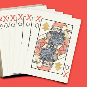 Alice Loveday x6 Cards Christmas Playing Card - XmsPlayingCards Fan 500x500