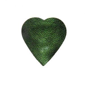 Green Heart Shoe Accessory