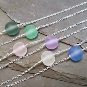 Emily Necklace - Harmony Collection - flat grey group 1 500x500