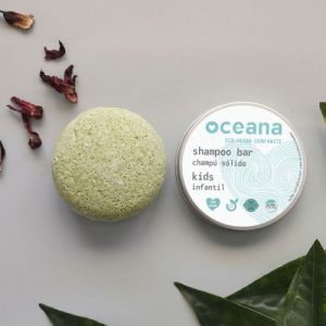 Oceana Solid Shampoo Bar For Kids + Aluminium Can. With Conditioner, Vegan, Handmade, Sulfates Free and Plastic Free - kids 500x500