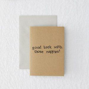 Good Luck Nappies