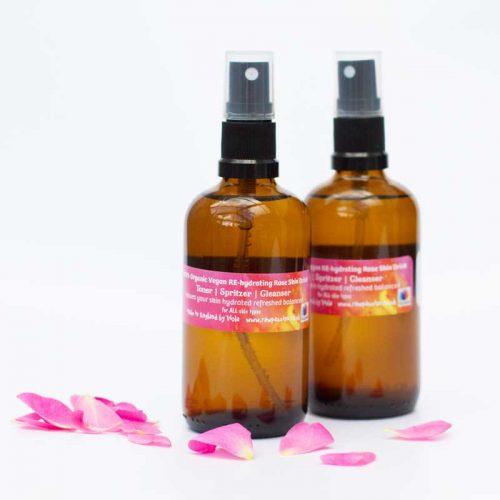 RE-hydrating Rose Skin Drink TONER SPRITZER CLEANSER