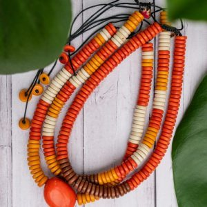 Rio Tagua Seed Adjustable Necklace