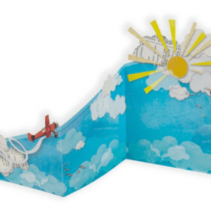 Greeting Cards - The Tri-Fold Collection - 'Vintage Aeroplane' - 10 1 1 500x500