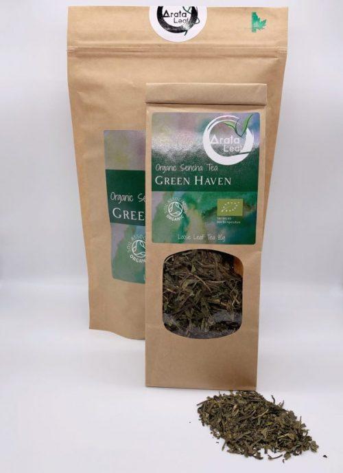 Green Haven – Organic Sencha Tea 80g
