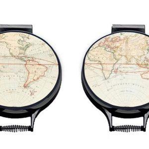 WORLD MAP AGA PADS (Set of 2)