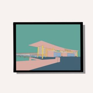 Boscombe Pier – A4 wall art print