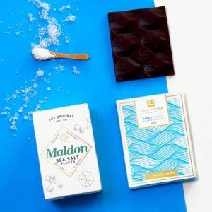 MALDON SEA SALT 70% DARK CHOCOLATE BAR (VEGAN FRIENDLY) 75g pack of 12