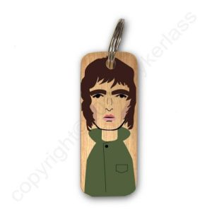 Liam Gallagher Character Wooden Keyring – RWKR1 – Pack of 6