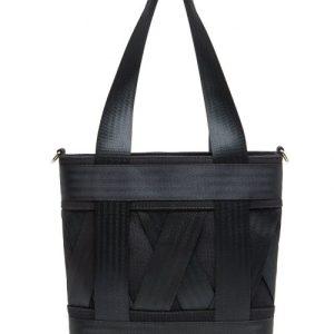 Mini Black Leka Tote Bag