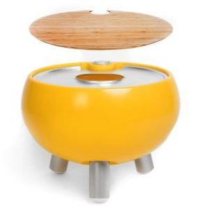 Freebird Entertaining Cooler (Chopping Board & Champagne Tray) – Egg Yolk