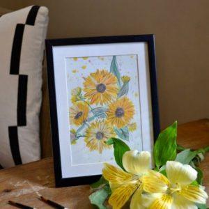 Print on Heavyweight Matte Paper - Sunflowers - A4 - 20 5 500x500