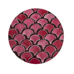 Round Coasters Ida-Lilja pack of 6 - 21 4