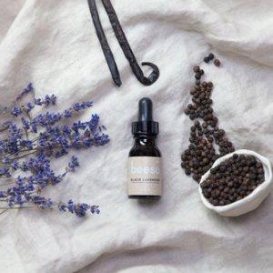 Black Lavender Beard Oil