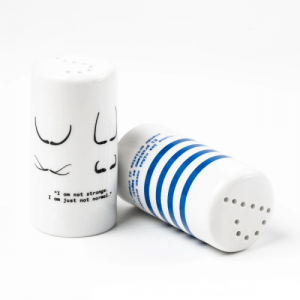 Mustaches and Stripes Salt and Pepper Shaker, pack of 3