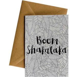 BOOM SHAKALAKA #096 – Greeting Cards – Pack of 4