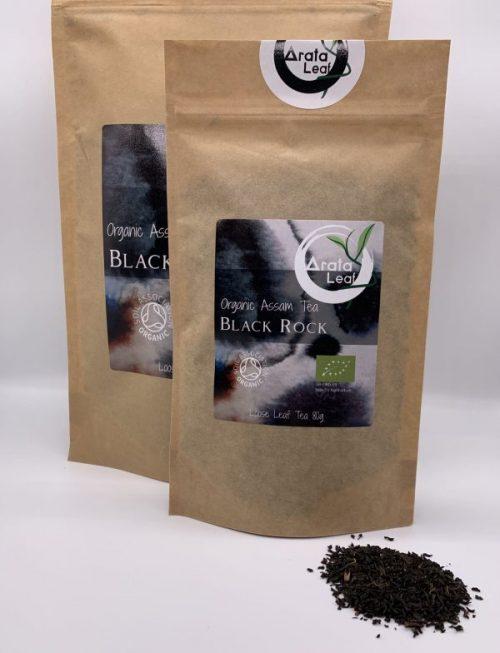 Black Rock Organic Assam Tea 80g
