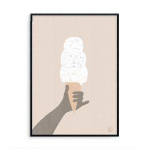 A3 Giclee Art Print – Life is Sweet #1