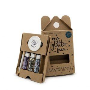 Eco Glitter Fun 3pcs Sparkle Blends 4 Boxed Kit