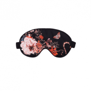 Floral Silk Sleep Mask Magic Blooms at Midnight - 5 24 500x500