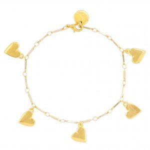 Bracelet - Hearts - 526 Bracelet hearts 500x500
