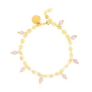 Bracelet - Pink Beads - 528  Bracelet Pink Beads 500x500