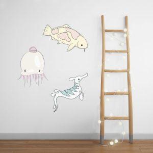 Fabric Wall Stickers  – SEALIFE
