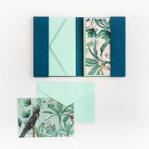 & INK Greeting card set – 10 pieces – with envelope