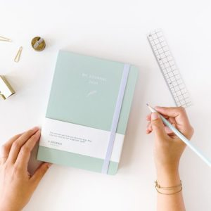 My Journal Diary 2021 – Mint Green