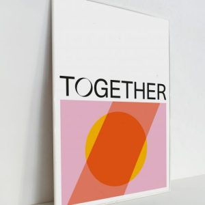 Together - A3 Print - A3 Print Together Colour 02 500x500