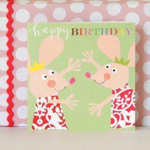 BH09 gleeful mice birthday card
