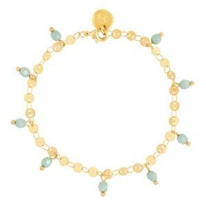 Bracelet - Green Beads - Bracelet green beads 500x500
