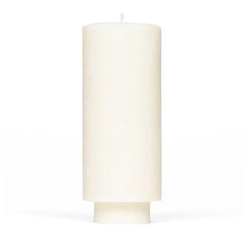 slim pillar candle