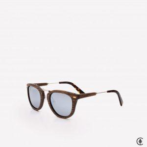 Wooden Sunglasses | Tofino | Mirror Chrome Lens